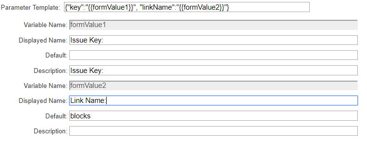 UI form project name